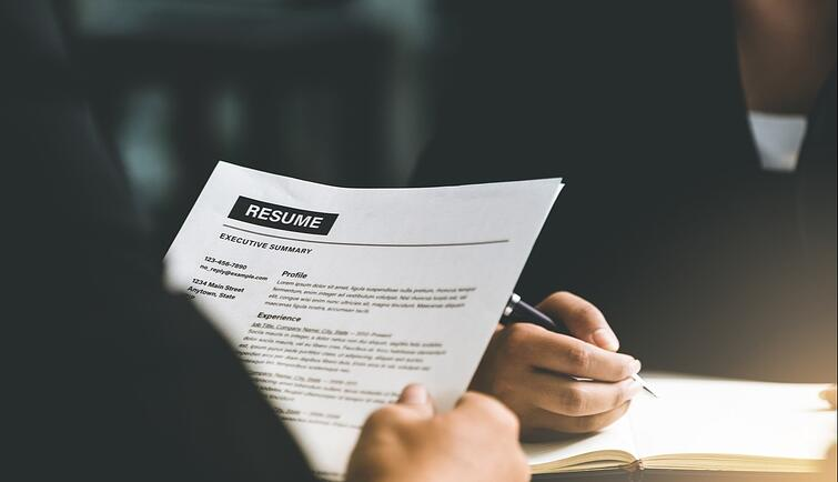 cv for interview
