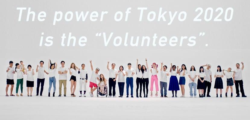 tokyo2022 volunteers